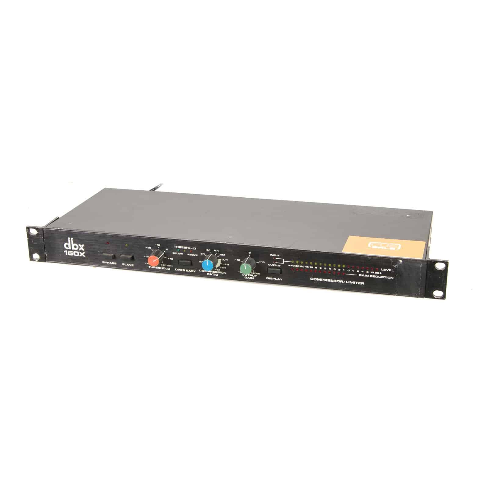 DBX 160X Compressor / Limiter