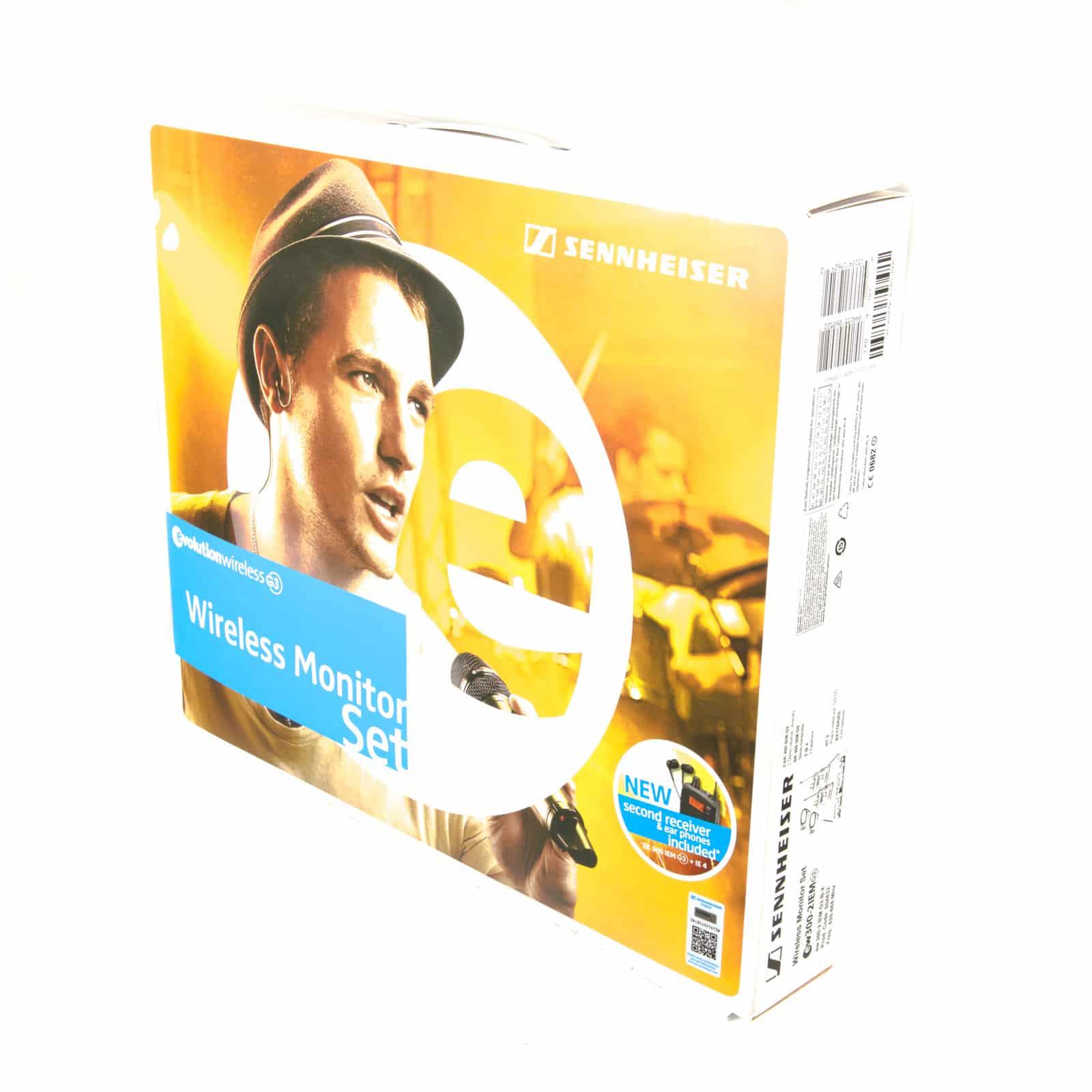 Sennheiser EW300 G3 IEM – NEW IN BOX (626-668 Mhz) ⋆ CUE Sale