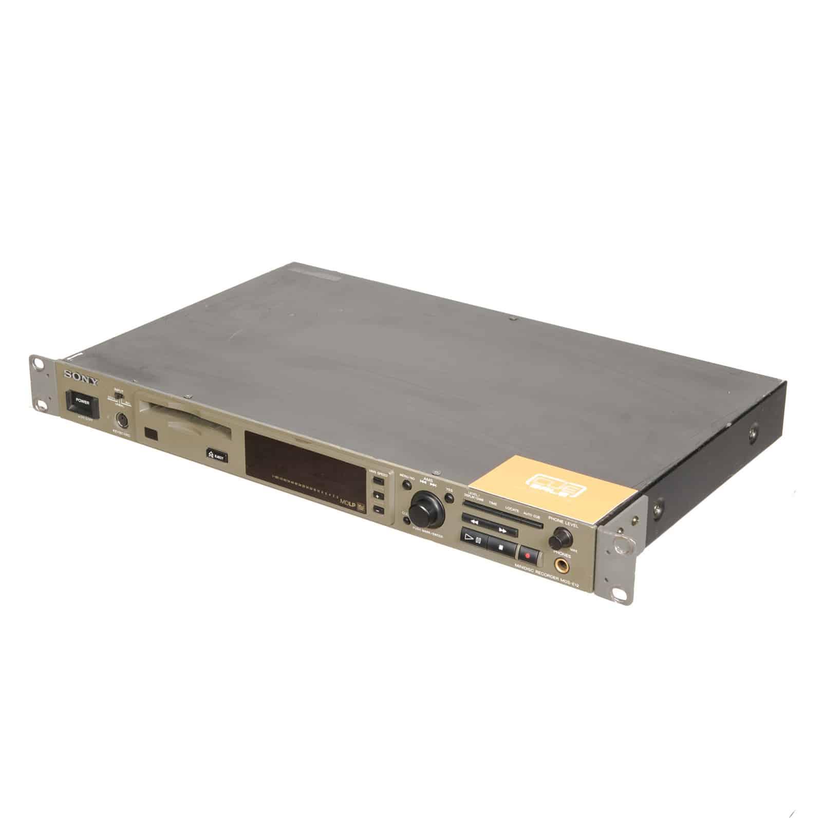 Sony MDS-E12 MiniDisc Recorder