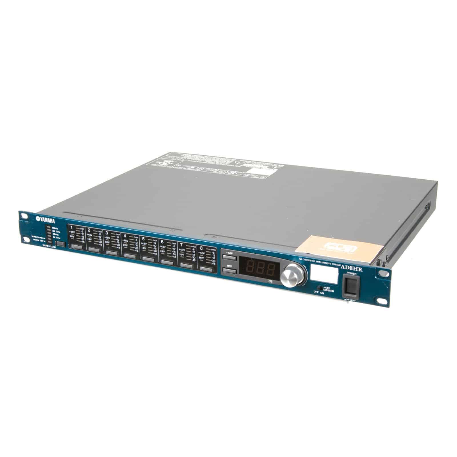 Yamaha AD8HR AD Converter w// Remote Preamp