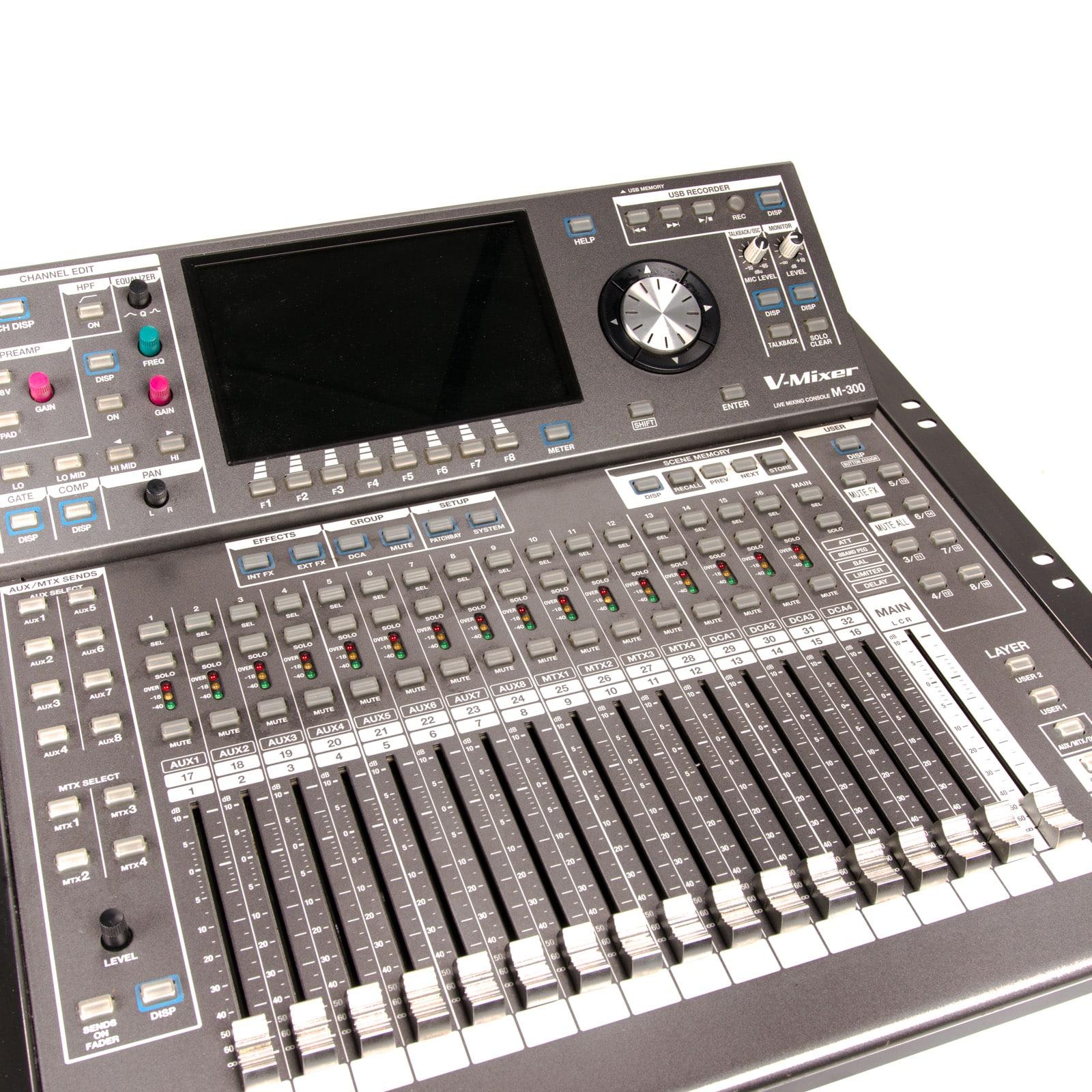 roland m300 digital mixing console cue sale. Black Bedroom Furniture Sets. Home Design Ideas